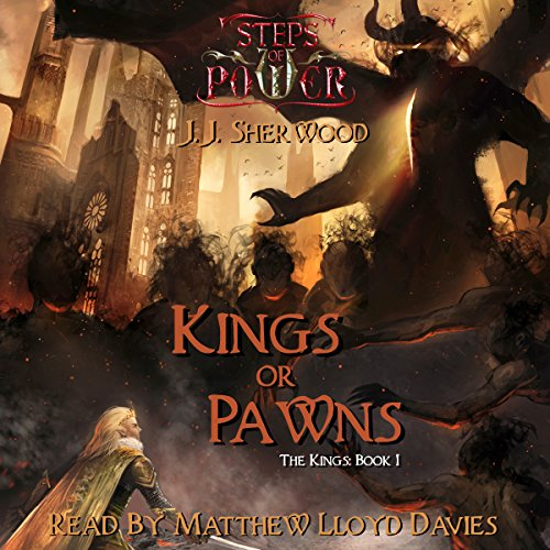 Kings or Pawns audiobook cover art