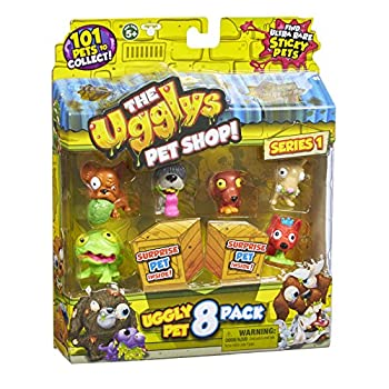 The Ugglys Pet Shop Toy Figure  8-Pack