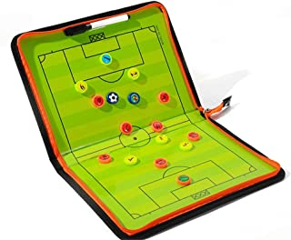 Coaches' & Referees' Gear Portable Soccer Magnetic Coaching Clipboard with Eraser and Pen Alomejor Football Strategy Board