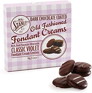 violet cream chocolates