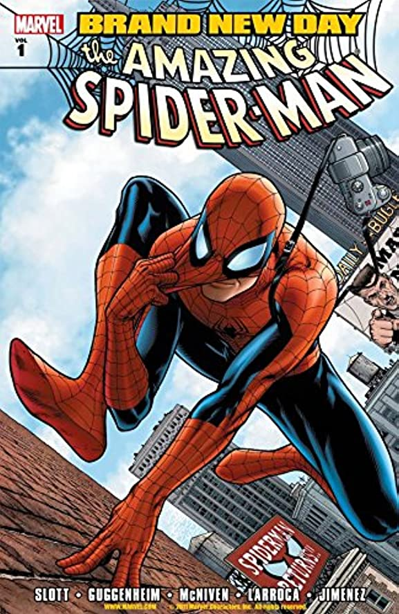 泥だらけ修道院脚Spider-Man Vol. 1: Brand New Day (English Edition)