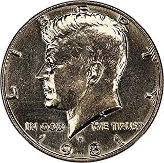 1981 P Kennedy Halves Half Dollar MS66 NGC
