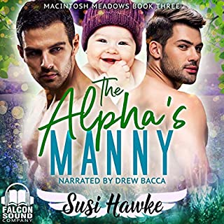 The Alpha's Manny audiobook cover art