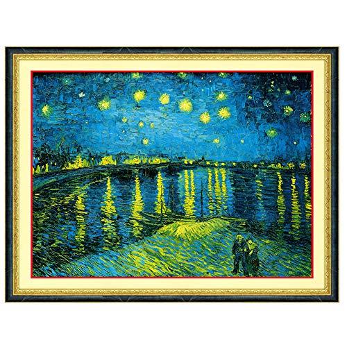 P0007 Cross Stitch Xinghua Van Gogh