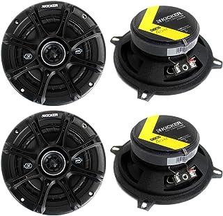 """KICKER 4 41DSC54 D-Series 5.25"""" 400 Watt 2-Way 4-Ohm Car Audio Coaxial Speakers photo"""