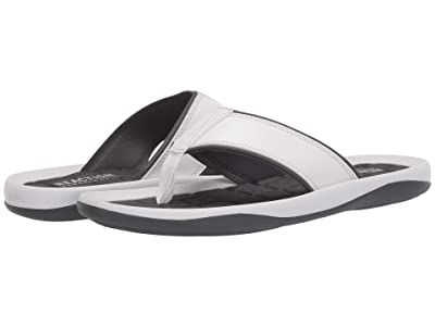 Kenneth Cole Reaction Four Sandal C (White/Grey) Men