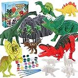 Tacobear Dinosaurio Figuras Pintar Juegos para Niños Dinosaurio Figuras para Pintar Dinosaurio...