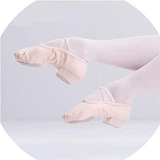 Ballet Shoes Jazz Slip On Dance Sneakers Dancing Shoes for Ladies Black Tan Adults & Children Canvas Ballet Shoes