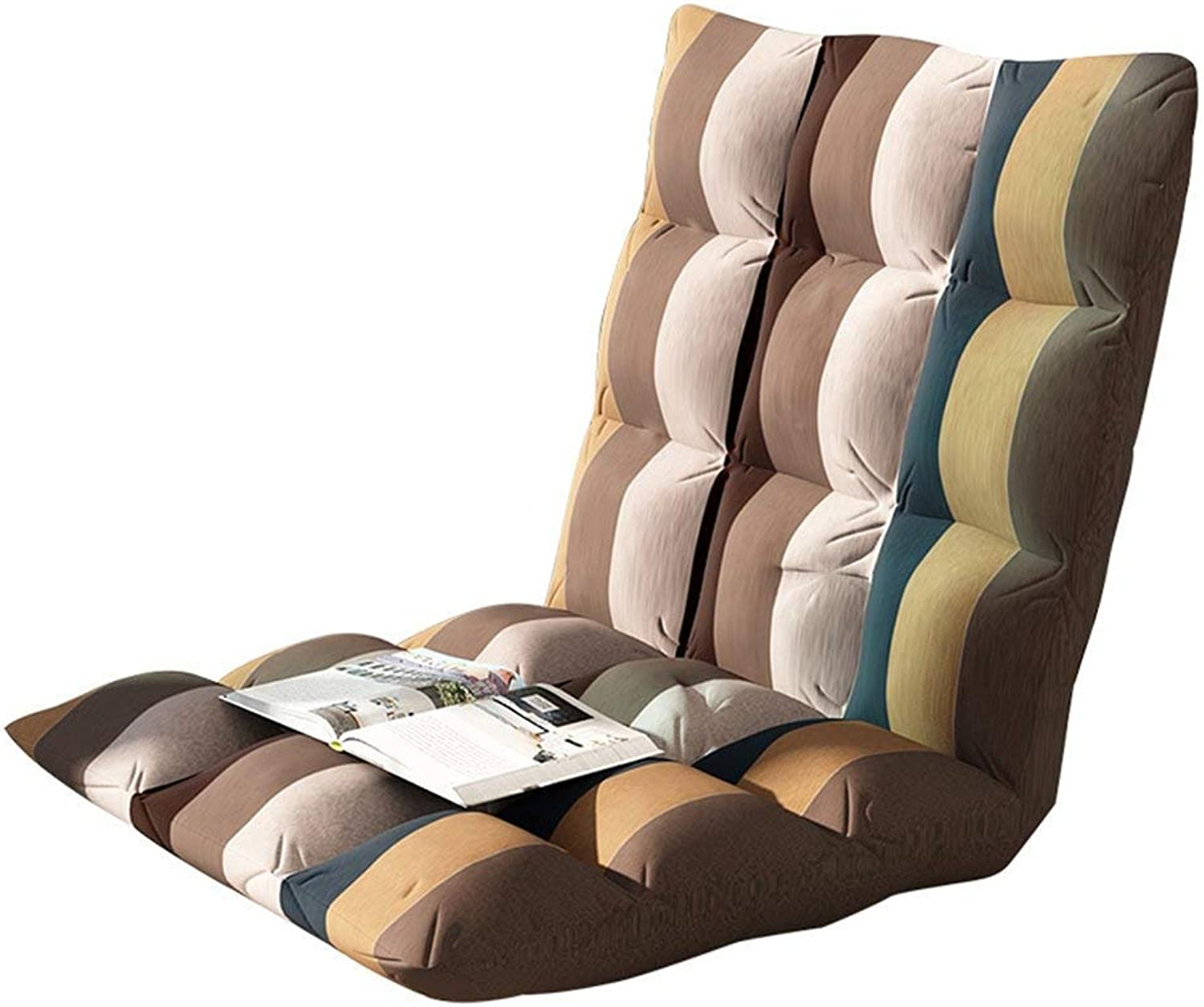 Lazy Sofa Cushion Folding Chair Bed Chair Bay Window Chair Lazy Couch (color  A, Size  78  40  10cm)