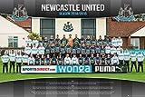 Laminiert Newcastle United Football Club Team Foto 2014/15