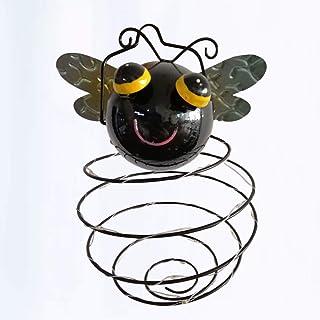 Mobestech Solar Hanging Light Waterproof Bee Shaped Solar Hanging Lantern Solar Garden Light for Outdoor, 1PCS