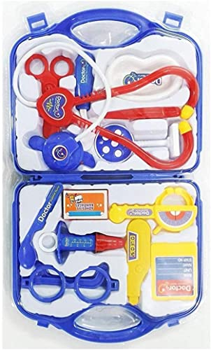 RAYFIN Doctor Plastic Play Set KIT with Fold able Suitcase Compact Medical Accessories Toy Set Pretend Play Kids