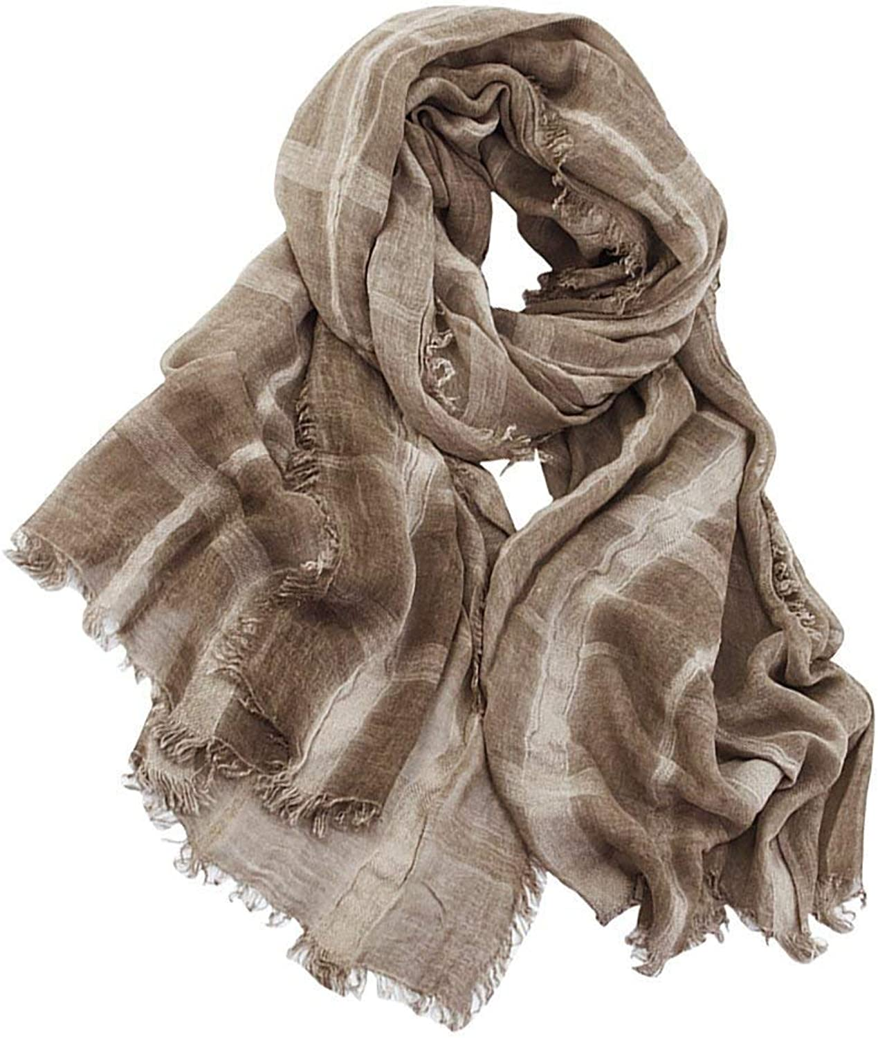 b6d8ae46 LLIND Men'S Scarf Classic Plaid Winter Scarf Plaid S Special Special  Special Style Cozy Daily Casual Warm Men's Scarf (color Coffee, Size One  Size) 6cd0a7