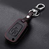 ZHANGERDAN Leder Auto Schlüsselanhänger Schlüsseletui Schlüsselhülle.Für Opel ASTRA J Astra Corsa Antara Meriva Zafira Insignia
