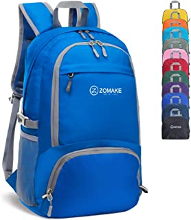 ZOMAKE 30L Lightweight Packable Backpack Water Resistant Hiking Daypack,Small Travel Backpack Foldable Camping Outdoor Bag...