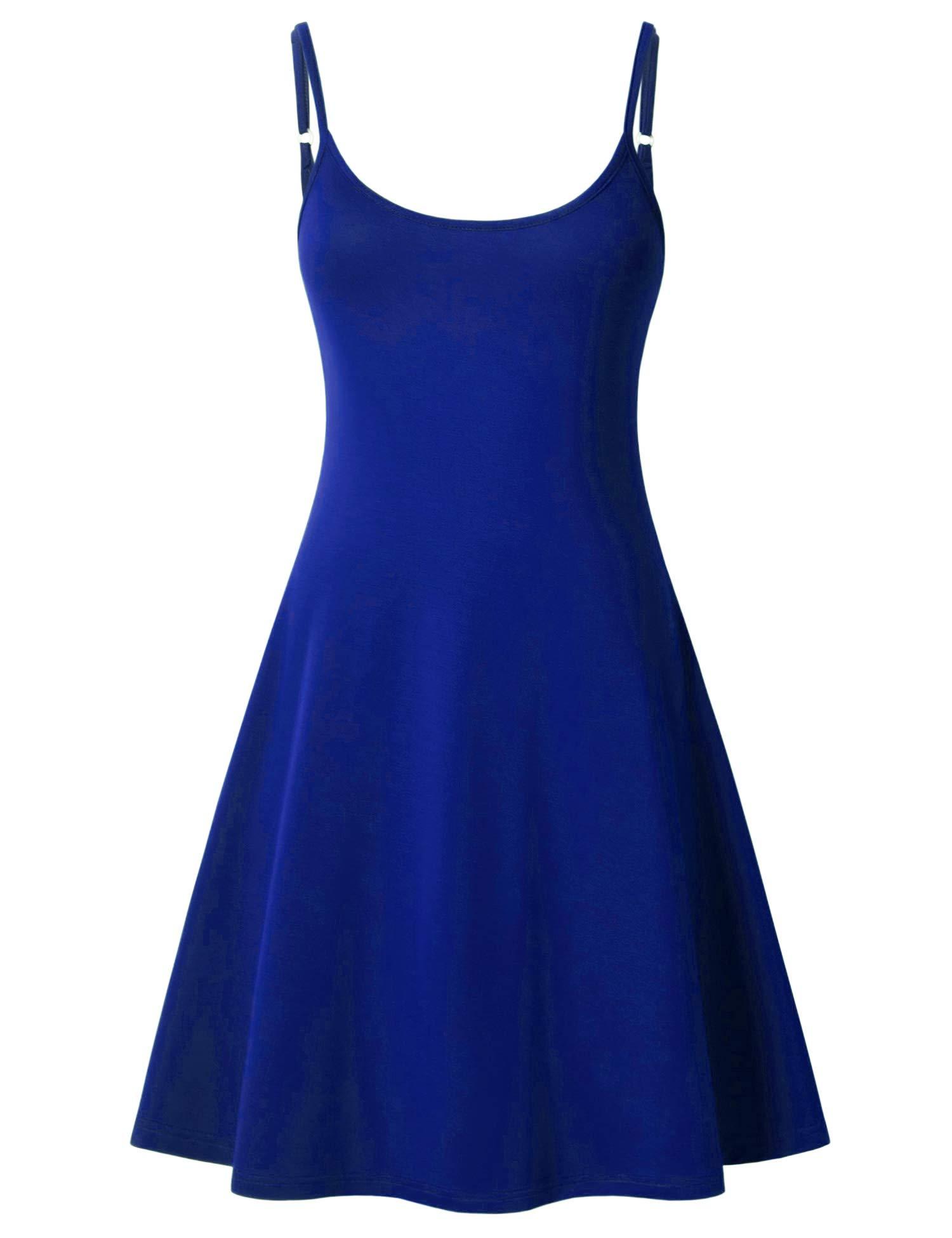 Available at Amazon: Perfashion Women's Sleeveless Adjustable Spaghetti Strap Slip Sleep Basic Dress