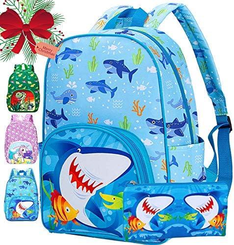 Preschool Backpack Boys 15 Shark Bookbag for Kids product image