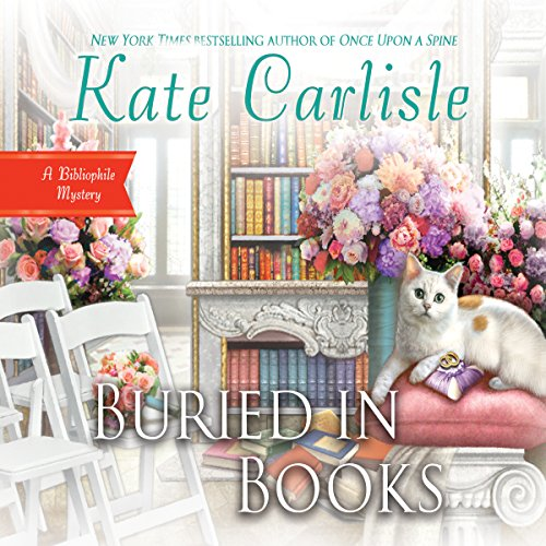 Buried in Books audiobook cover art