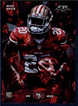 Football NFL 2015 Topps Fire Rookies Onyx #46 Mike Davis #46 NM+ RC Rookie 49ers