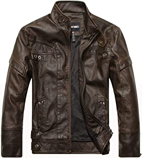 f0542cf5b1 Amazon.com: $50 to $100 - Leather & Faux Leather / Jackets & Coats ...