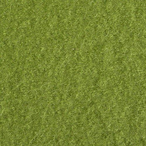 Mantelstoff Bekleidungsstoff Walkloden Wolle Meterware moos grün