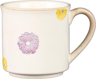 奥川陶器 菊水玉 マグカップ(紫) 382451