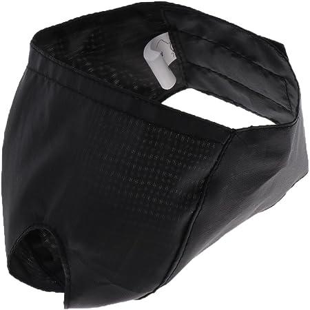猫用マスク 毛づくろい ファッション 猫 口輪 爪きり 補助用 マスク 多種選べる - ブラック, L