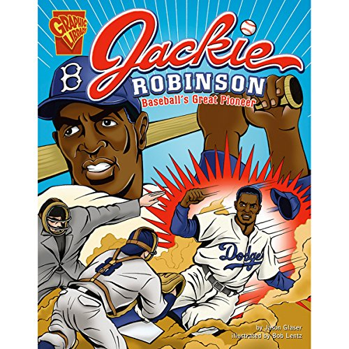Jackie Robinson audiobook cover art