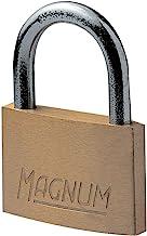 Master Lock CAD20 Magnum klein hangslot van massief messing en sleutel, goud, 3,4 x 2 x 0,8 cm