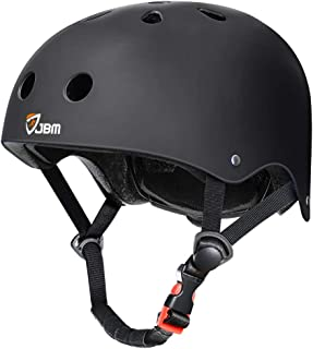 JBM اسکیت بورد کلاه ایمنی ASTM Certified Ventilation Resistance Impact برای دوچرخه سواری چند منظوره اسکیت بورد اسکیت بورد رولر اسکیت سواری اسکیت بورد Rollboardboards Longboard