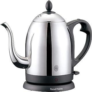 ラッセルホブス 電気ケトル コーヒー ステンレス ドリップ ポット 細口 1.0L 7410JP