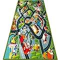 Kids Carpet Playmat Rug - Fun Carpet City Map for Hot…