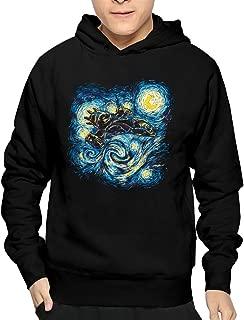 Mens Vincent Van Gogh Painter The Starry Night Juniors Pullover 100% Cotton