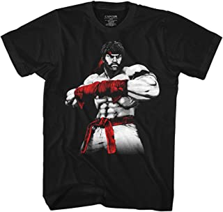 American Classics Street Fighter Hot Ryu2 Adult Short Sleeve T-Shirt,