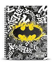Batman- Libretas y Cuadernos, Multicolor (Karactermania KM-37598)