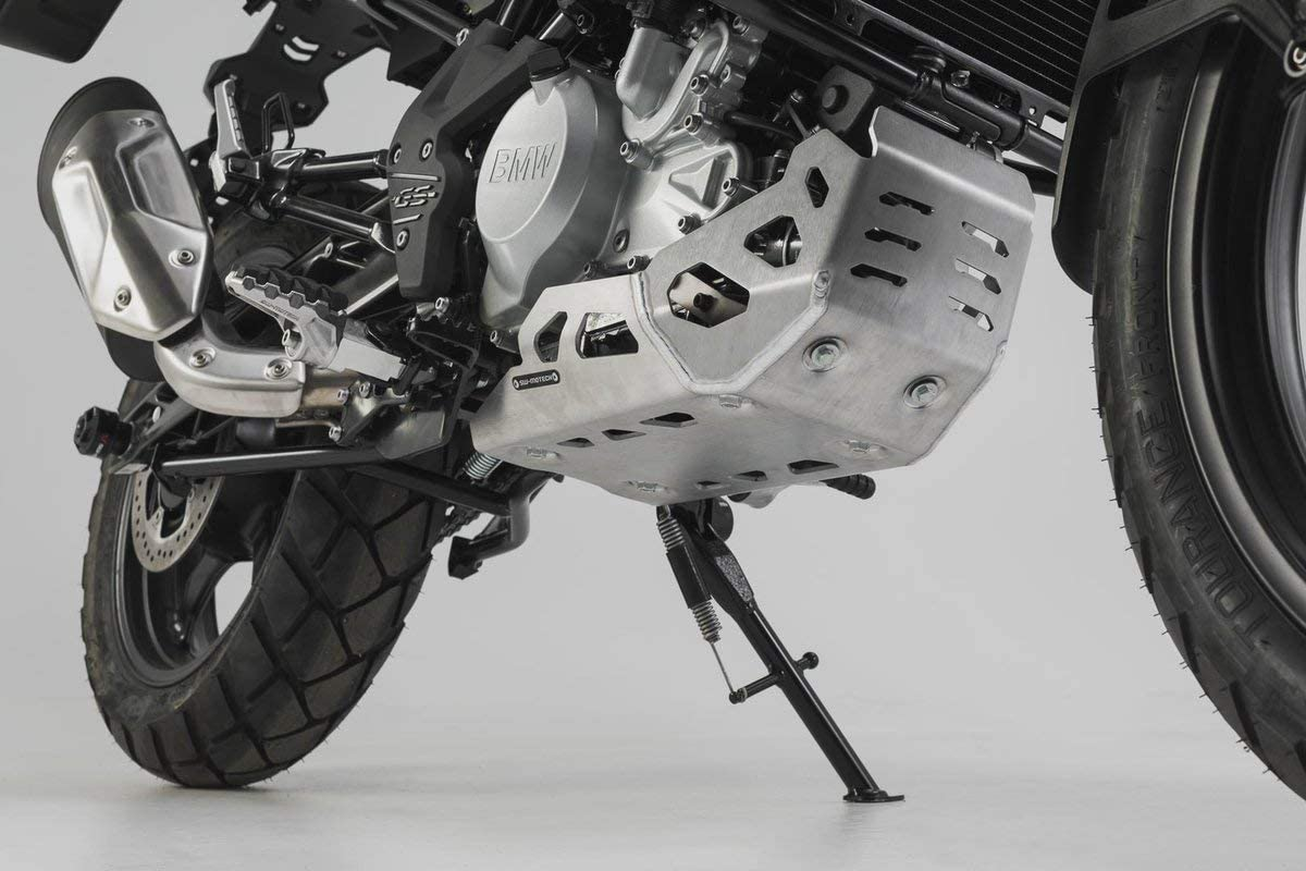 Minneapolis Mall Max 64% OFF SW-Motech Skid Plate Silver Compatible BMW with G310GS 17-19