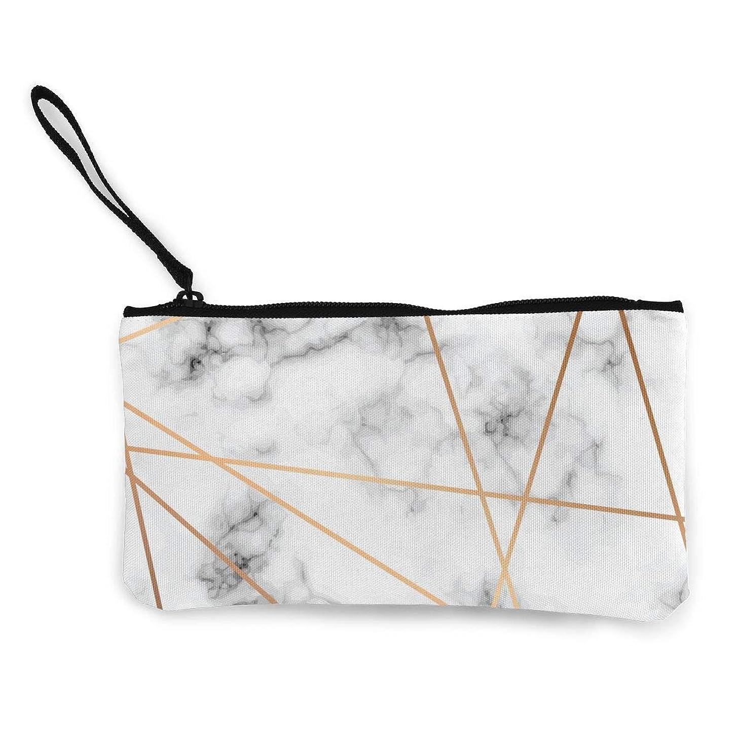 ふくろう原始的な楕円形ErmiCo レディース 小銭入れ キャンバス財布 大理石模様 小遣い財布 財布 鍵 小物 充電器 収納 長財布 ファスナー付き 22×12cm