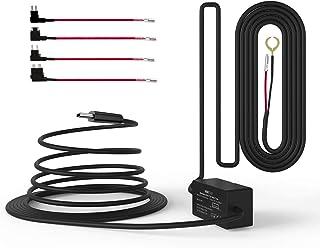 Vantrue N4 11.5ft Type C USB 12V 24V to 5V Dash Cam Hardwire Kit with Mini, ACS, ATO, Micro2 Add a Circuit Fuse Holders, L...