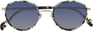 PARAFINA TRADEMARK - Parafina - Gafas de Sol Polarizadas para Hombre y Mujer - Gafas de Sol Redondas Anti-reflejantes Ash Demi con Efecto Espejo - Lentes Plateadas