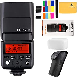 Godox TT350O 2,4 G HSS 1/8000s TTL GN36 Camara Flash Speedlite para Olympus/Panasonic E-M10II,E-M5II,E-M1,E-PL8,E-PL7,E-PL...
