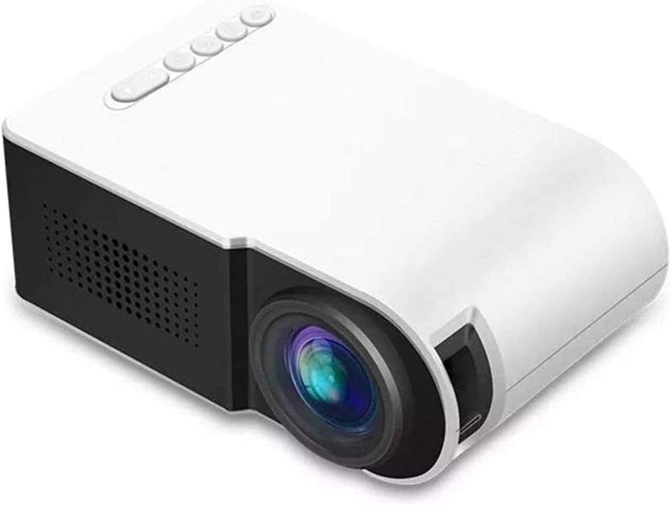 BLLXMX Office Products Portable List price Max 54% OFF Video Projector Resolu 1920x1080
