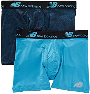 New Balance Mens Dry Fresh Boxer Brief 2-Pack
