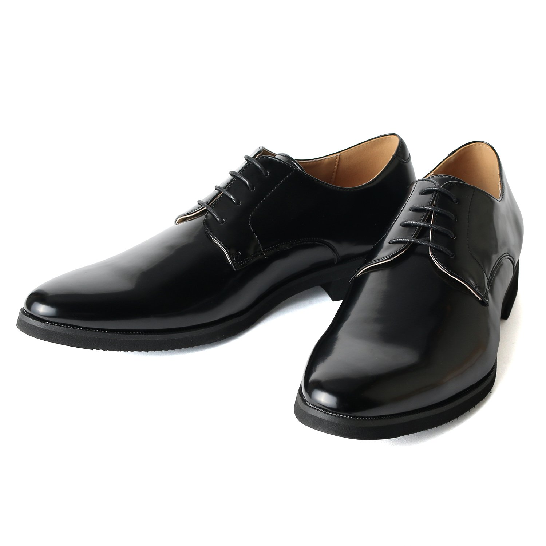 [ミッドランド フットウェアズ] 外羽根 プレーントゥ 紳士靴 靴 メンズ 軽量 ビジネス 革靴 メンズシューズ シューズ ビジネスシューズ 002