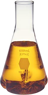 Kimble Glass Baffled Culture Flasks, 2000ml Capacity (Case of 6)