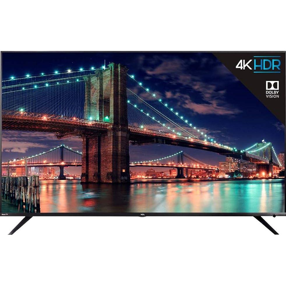 TCL 65R615 65-Inch 4K Ultra HD Roku Smart LED TV Dolby Vision HDR (2018 Model)
