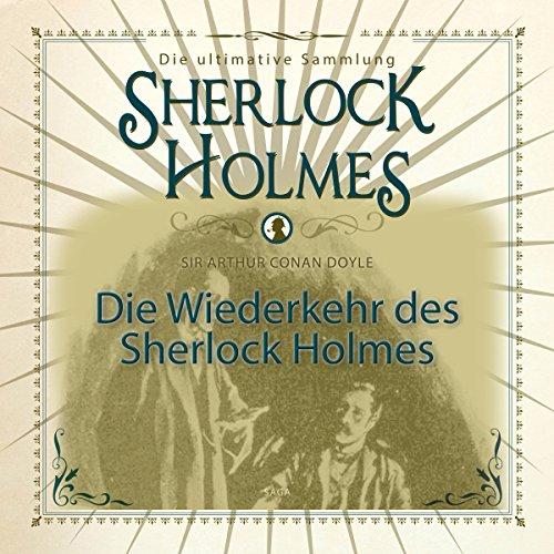 Couverture de Die Wiederkehr des Sherlock Holmes