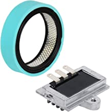 HIFROM Replacement Voltage Regulator Rectifier Air Filter Pre Cleaner for Onan P-Series 16 17 18 19 20HP 20 Amp 191-1748 191-2106 191-2208 191-2227 John Deere 318-420