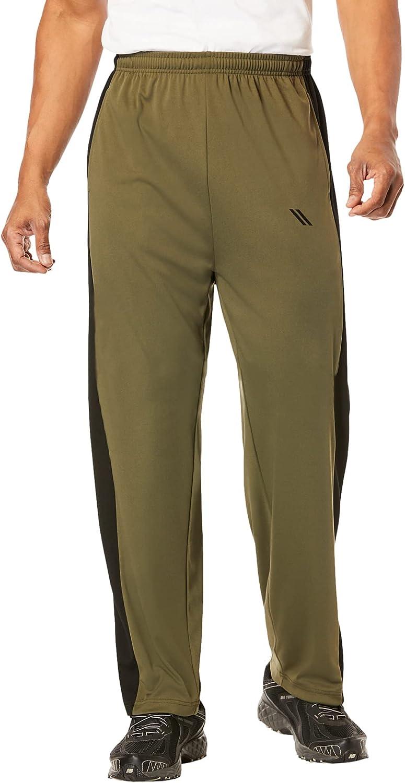 KingSize KS Sport Men's Big & Tall Power Wicking Pants by KS Sport