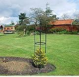 <span class='highlight'><span class='highlight'>KINGFISHER</span></span>- Garden Obelisk Arch Climbing Plants Shrubs Trees.Set of 2