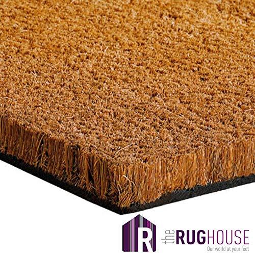 The Rug House Tappeto per Ingresso in Fibra di Cocco 1m & 2m di Larghezza
